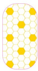 Yellow Hexagon