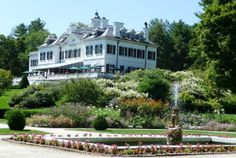 Novelist and designer Edith Wharton's estate, The Mount, Lenox, Massachusetts