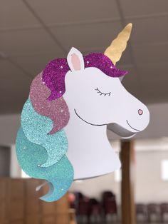 Diy Unicorn Birthday Party, Birthday Party Themes, Unicorn Cake Design, Unicorn Pinata, Unicorn Crafts, Diy Birthday Decorations, Diy Crafts For Kids, Creations, Images
