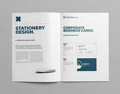 "Manual Design Templates Check Out My Behance Project ""corporate Guide Sample"" Httpswww ."