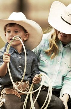My Mady and Braylan! Kids and Western wear are like peas and carrots.