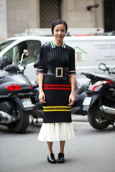 The big belt is making a triumphant return and your soon-to-be instantly minimized waist will rejoice. Shop it: Linea Pelle belt, $159, shopbop.com. - HarpersBAZAAR.com