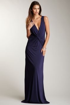 Halston Heritage Twist Front Gown by Luxe Be A Lady on @HauteLook