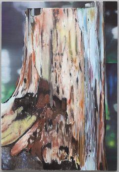 Cut 1, Eberhard Havekost, 2010 Oil on canvas, 51x35 inches, Anton Kern Gallery, New York