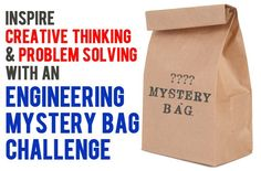 Mystery Bag Engineering Challenges for Kids #kids #activities