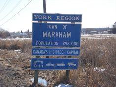 Markham city in Canada