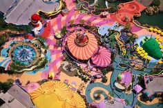 Aerial Photos of American Amusement Parks and Leisure Spots