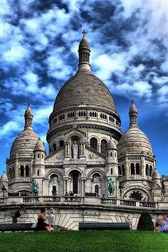- Basílica del Sagrado Corazón, Paris Francia -