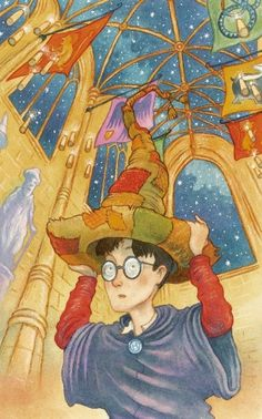 original thomas taylor harry potter illustrations