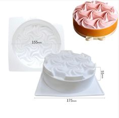 3D Easter Eggs Silicone Molds Cake Decor French Dessert Mousse Baking Cupcake 9U