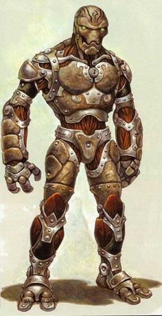 Warforged | Guardians of the Frontier | Obsidian Portal