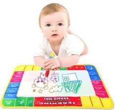 Kids Water Drawing and Writing Mat + Pen, only $4.23!