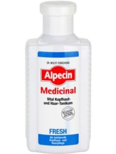 Alpecin Medicinal Fresh tonic revigorant pentru un scalp seboreic 200 ml Vodka Bottle, Medicine, Fresh, Top, Medical