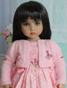 "Smocked Ensemble for Effner 13"" Little Darling Dolls-Petite Princess Designs #PetitePrincessDesigns"