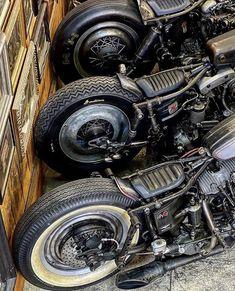 Harley Bobber, Chopper Motorcycle, Bobber Chopper, Motorcycle Art, Softail Bobber, Motorcycle Design, Bobber Bikes, Cool Motorcycles, Vintage Motorcycles