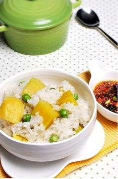 Sweet potato rice(고구마 밥)