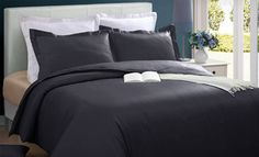 Groupon - $29 for a Club Le Med Microfiber Duvet-Cover Set ($79.99 List Price). Eight Colors Available. Free Shipping and Returns. in Online Deal. Groupon deal price: $29.0.00