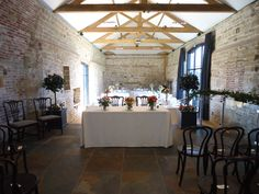Ceremony and Wedding Reception Layout at Hendall Manor Barns
