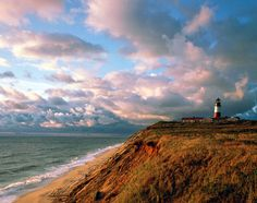 Nantucket, Massachusetts, United States, North America: Bluff Walk in 'Sconset leads from the village along bluffs (and through some swank backyards)