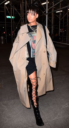 Leave it to Rihanna to own this statement boot style this summer. Details inside.