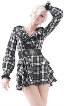 Dead Threads Tartan Dress