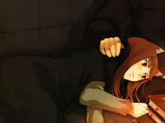 Wolf Ears, Spice And Wolf, Brown Hair, Wolf Images, Wolf Pictures, Anime Art Fantasy, Spices, Animal Ears, Light Novel