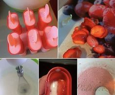 POTŘEBNÉ PŘÍSADY:  250 ml zakysaná smetana 250 ml měkký tvaroh ve vaničce 100g cukr moučka - nebo podle chuti kdo nemá rád tolik sladké 1 vanilkový cukr jahody - nemusí být   POSTUP PŘÍPRAVY:  Tvaroh, zakysanou smetanu a cukry dáme do mísy a elektrickým šlehačem šleháme 3 minuty. Czech Recipes, Muesli, Bruschetta, Food And Drink, Pudding, Cooking, Desserts, Traditional, Candy