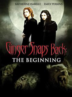 Set In Canada the sisters Ginger (Katharine Isabelle) and Brigitte (Emily Perkins) survive after their small boat capsizes, losing their parents. Ginger Snaps Movie, Katharine Isabelle, La Haye, Amazon Prime Video, Snap Backs, Cultura Pop, Werewolf, I Movie, Movies