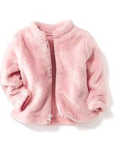 Fuzzy Performance Fleece Jacket for Baby   Old Navy