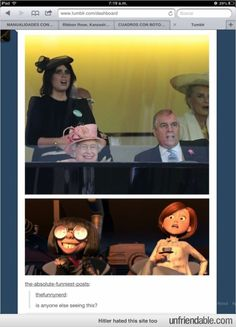 Tumblr - The Incredibles & The Royal Family