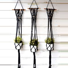 #macrame copper plant hangers by Ranran Design