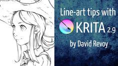 Line-art tips with Krita 2.9