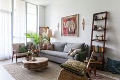 A Colorful, Globally Eclectic Toronto Apartment — House Tour