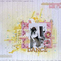 Let's Dance by Riikka Kovasin for guest post at Shimelle's blog during NSD
