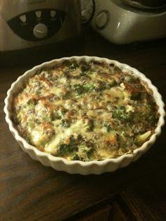 Mine favorittoppskrifter på Lavkarbo mat: Lavkarbo pai med blåmuggost og brokkoli