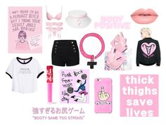 """Fight for Your Rights"" by decapitatedlove ❤ liked on Polyvore featuring Valfré, Lime Crime, Y.R.U., H&M and LE3NO"