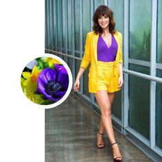 Amarelo e roxo, cores complementares, que garantem um ar moderno ao visual Mix, Outfit Posts, Feminism, Fashion Ideas, Fashion Dresses, Lingerie, Tattoo, Purple, My Style