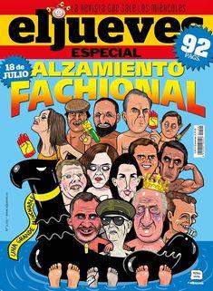 Portada Revista El Jueves nº. 2198 Humor Grafico, Classic Tv, Comic Covers, Samurai, Spiderman, Superhero, Digital, Movie Posters, Products
