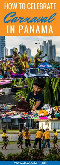 Carnaval is a mega-holiday throughout Latin America and the Caribbean, and it's even celebrated in Europe. No matter where you go or which country you find it in, Carnaval is a joyous, festive event. Panama Carnaval always takes place over the four to five days leading up to Ash Wednesday, and people all over Panama gather to drink, eat and party. Click through to find out how to celebrate Carnaval in Panama.   As We Saw It #carnaval #panamá