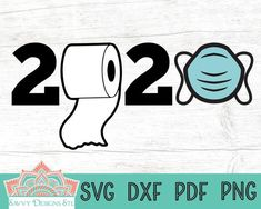 2020 Cut File for Silhouette and Cricut Quarantine svg Toilet Paper svg png dxf and pdf by SavvyDesignsSTL Congratulations Graduate, School Signs, Scan And Cut, Last Day Of School, Class Of 2020, Design Show, Design Design, Svg Files For Cricut, Cricut Design