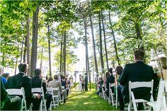 Creative Summer Estate Wedding - Polly + Ryan - The Daily Wedding