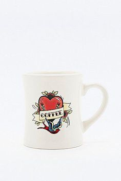 Tattoo Coffee Mug in Cream #covetme #urbanoutfitters