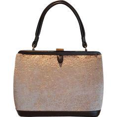 High End Vintage SOURE' of New York Handbag