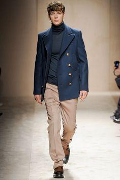 Salvatore Ferragamo pea coat a/w 2011