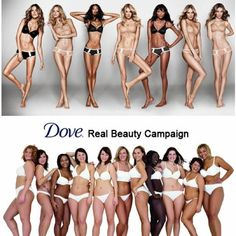 Talk about two VERY dichotomous perceptions of beauty.