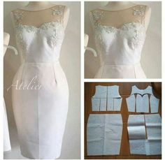 Love it, I'll probably just add tulle at the bottom to make it a mermaid dress