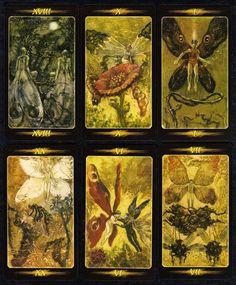 NEU! Tarot der Geheimnisse Waldes Tarot Karten Kartenlegen 78 Tarotkarten