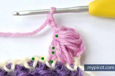 Crocheting pattern. Master Class (MC Lessons and knitting) | Magazine Inspiration Needlewoman