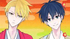 Itsuki and Hanae | (summer 2016) - Fukigen Na Mononokean