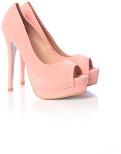 Ella gold  peep toe #shoe #souqfashion